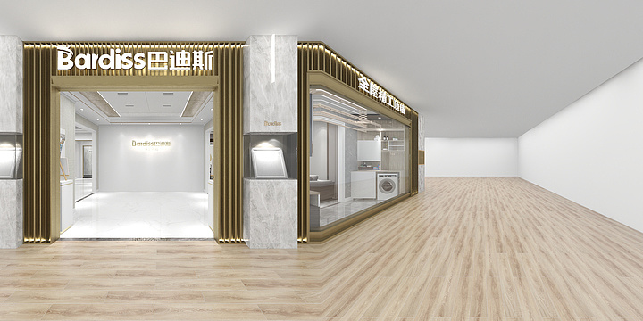 贵州铜仁●6代店|装修效果全景图
