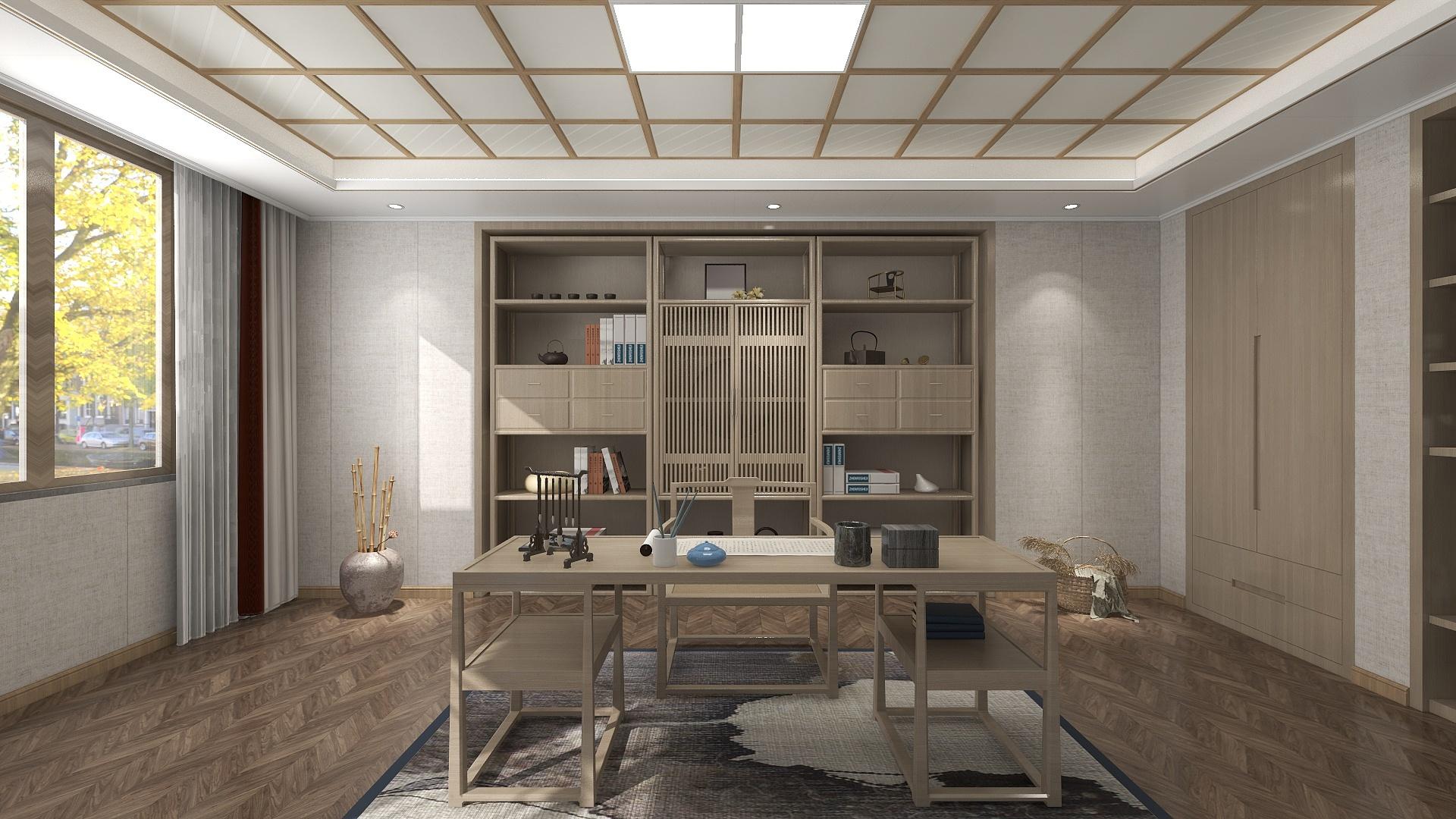 精品方案-日式风格空间2