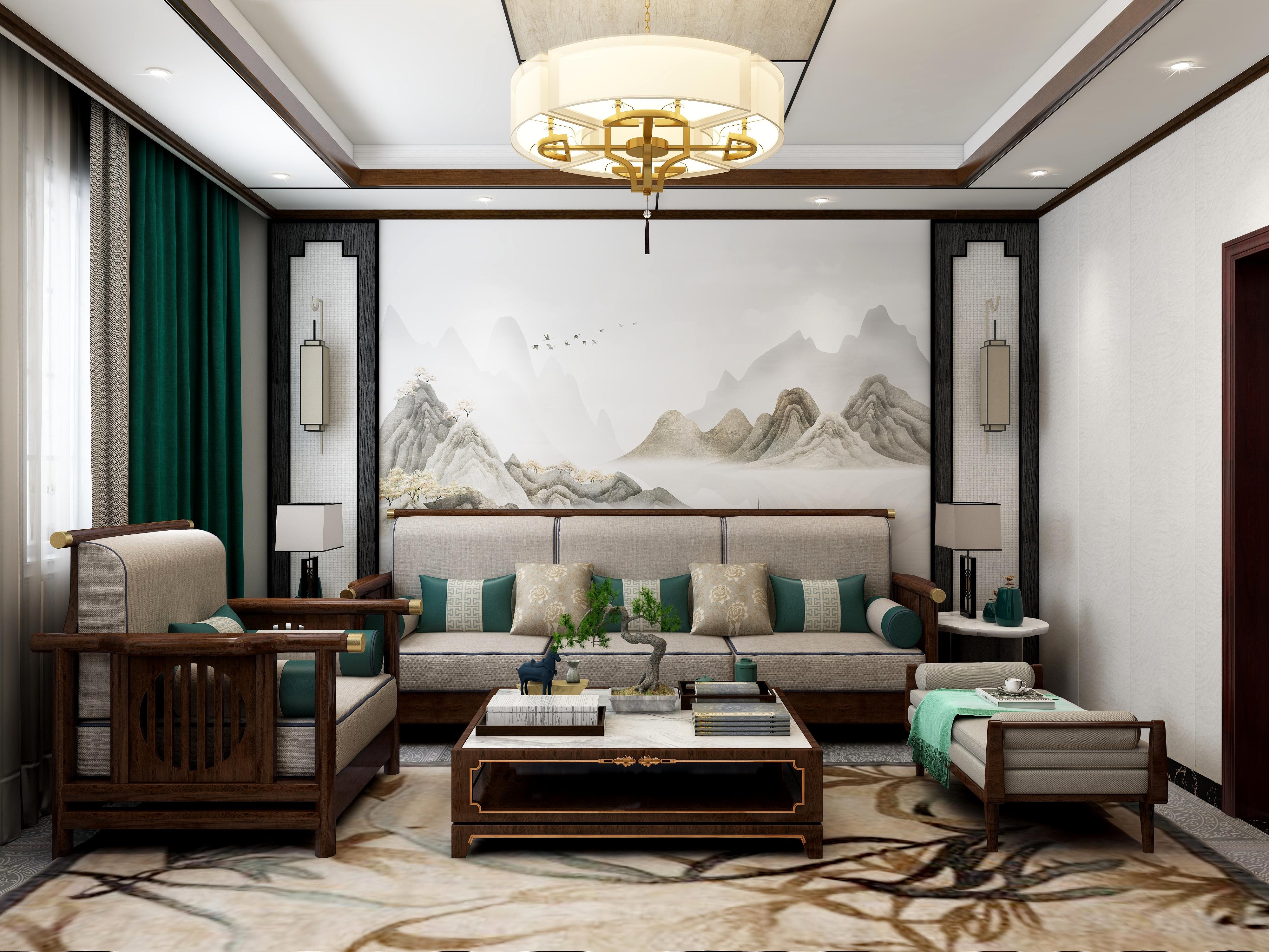 广东省-惠州市博罗-新中式风格